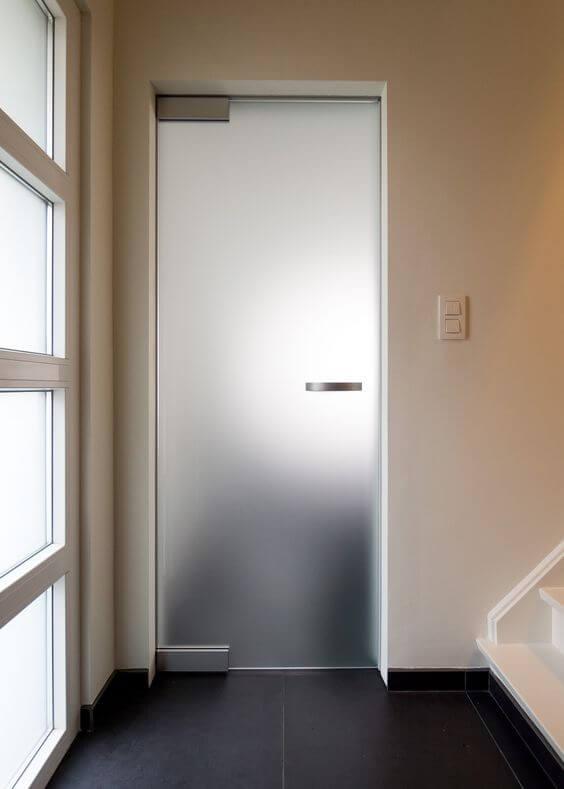 Sklenené dvere otváravé